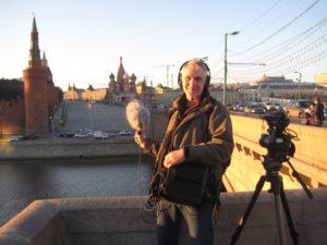 Ingo beim heimlichen Abhören des Kreml