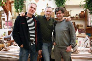 Mit Stefan Eberlein und Manuel Fenn