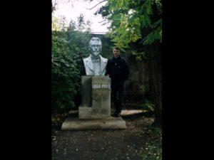 Denkmal von Anton P Tschechov