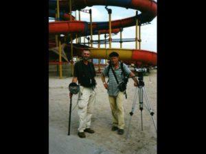Markus Neumann & Ingo Burghardt in Rumänien 2001