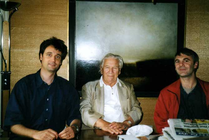 Sir Peter Ustinov, 2002
