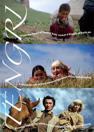 Offizielles Filmplakat von Tengri - Himmelsblau