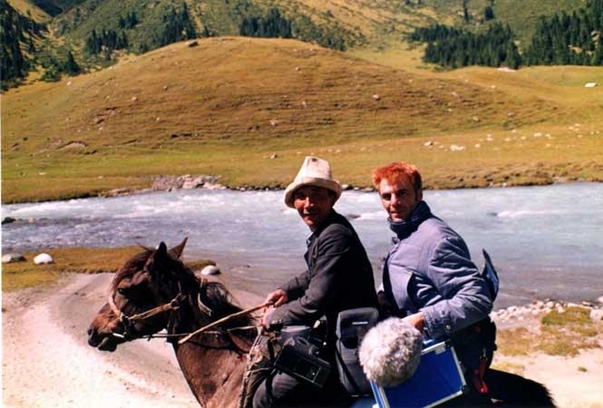 Ingo in Kirgistan, Oktober 1998