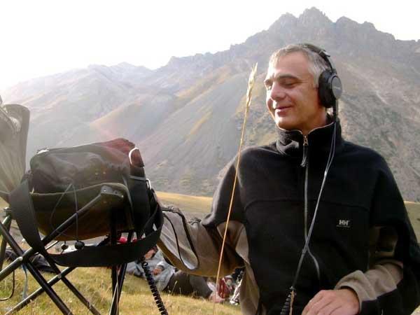 Tengri Kyrgyzistan 2007 Ingo at work