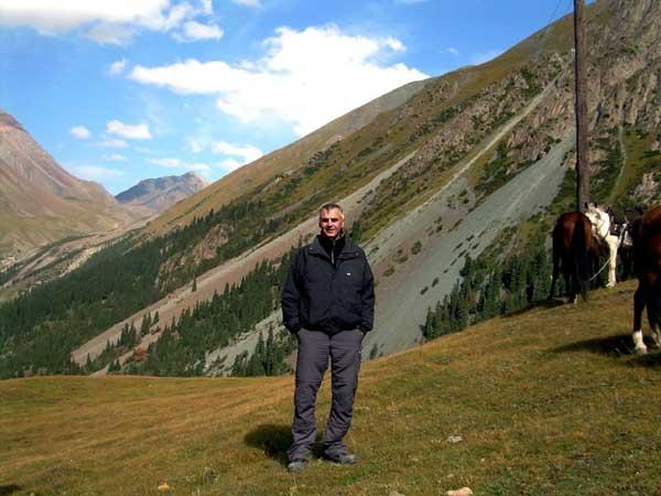 Tengri Kyrgyzistan 2007 Ingo near Issykul