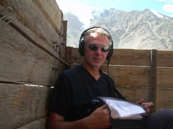 Tengri Kyrgyzistan 2007 recording in lorry