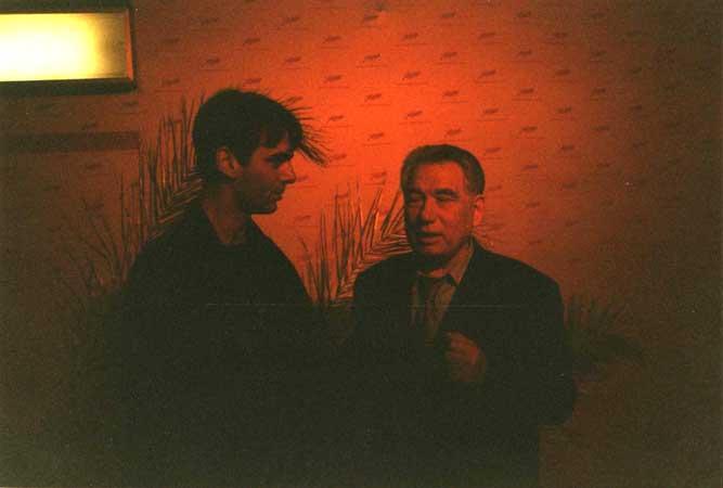 Tschingis Aitmatov und Ingo Burghardt