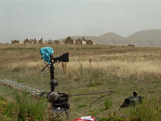 Tengri shooting, The graveyard